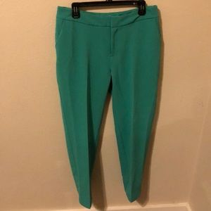 Green A New Day ankle trouser.